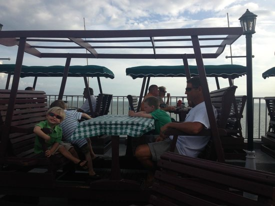 Red Coconut RV Park: Top of the roof at Lani Kai