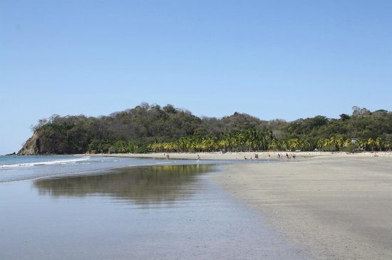 Samara Beach: Højre ende af stranden
