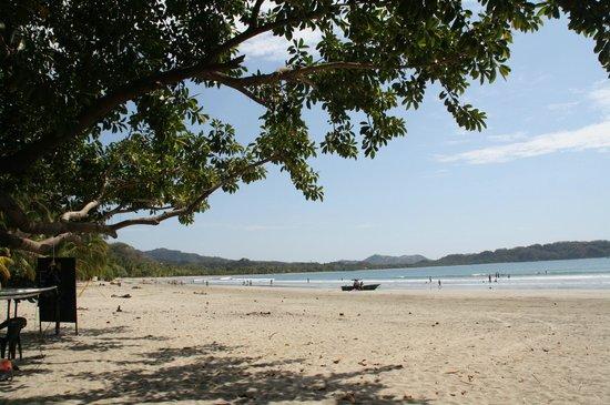 Samara Beach: Venstre side af stranden