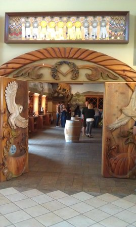 South Coast Winery : Entry to Tasting Room