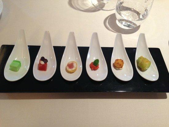 Restaurant JYS: Amuse bouche