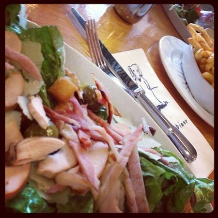 Salts Diner: epic Caesar salad