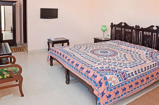 Suryaa Villa: Deluxe Double Room - Refurbished March 2013