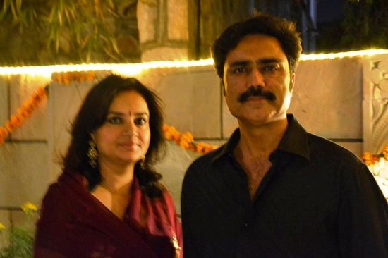 Suryaa Villa: Your Hosts - Mr Surya Pratap Singh & Mrs. Suman Kumari