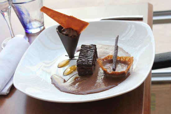 Masa Square Hotel : mouth watering puddings