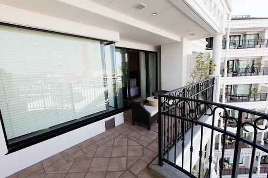 Hotel La Suite Kobe Harborland : Balcony