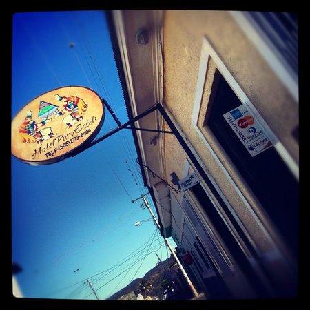 Hotel Puro Esteli: Sign