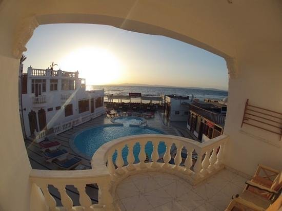 Seaview Hotel Dahab: Sea view from Sea View.