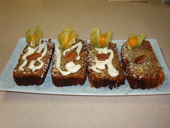 John's Gate Gourmet Bed and Breakfast: Homemade treats