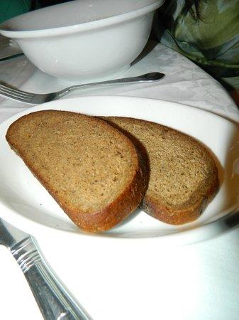 Mimino Georgian Restaurant: Brown bread