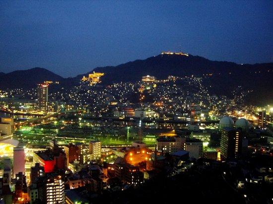 Hotel Nagasaki : 稲佐山方面