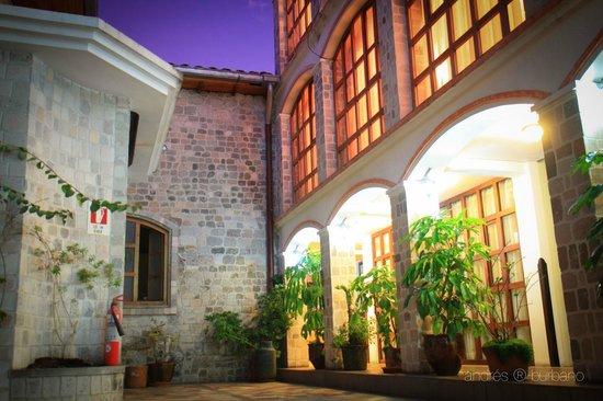 Villa de Tacvnga: Hotel
