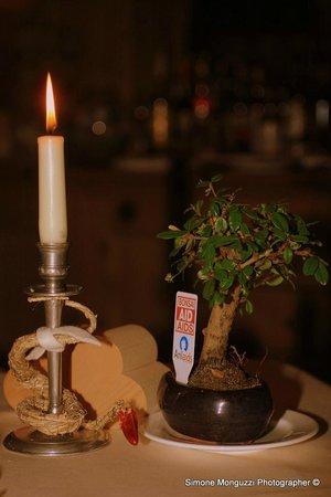 Hotel Chalet Ristorante Mattias : Tavolo ristorante