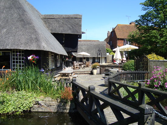 Chestfield Barn: Garden Entrance Side
