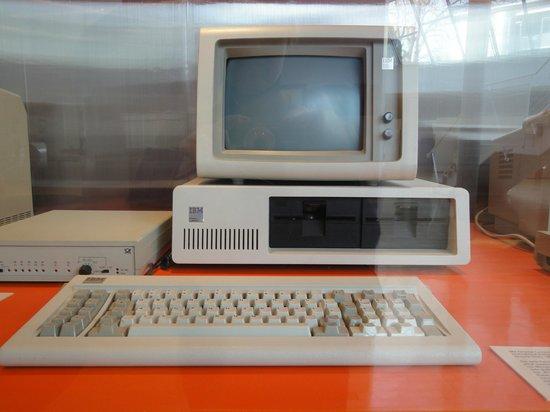 Museum fur Post und Kommunikation: Il vecchio IBM, il mio primo pc!