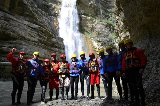 Castle Park: Rafting in the canyons of Skrapar offered by the hotel