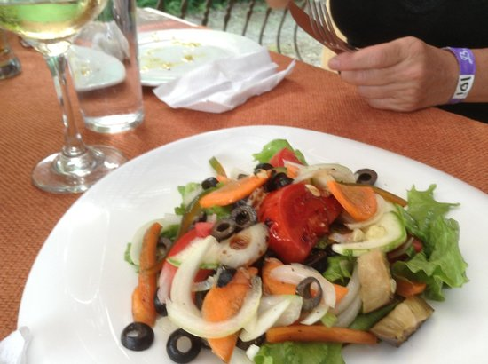 Anch'io: Great Seafood Salad