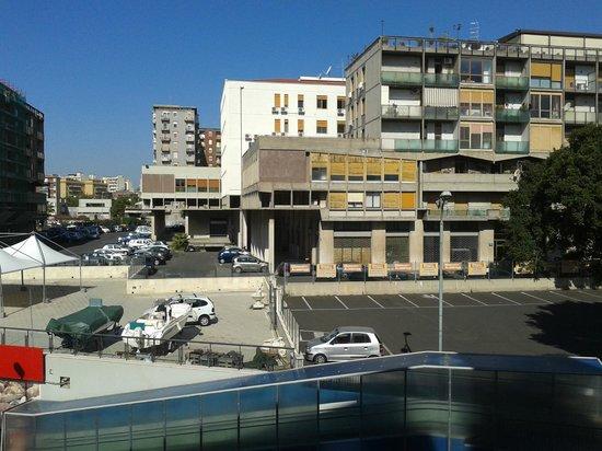 Hotel Nettuno : Blick vom Balkon 2. OG mittig