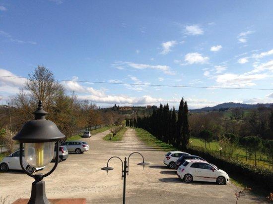 Cascina De' Fagiolari: vista