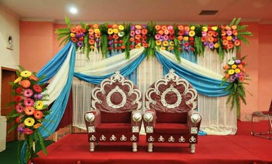 City Mahal: Decorated Stage