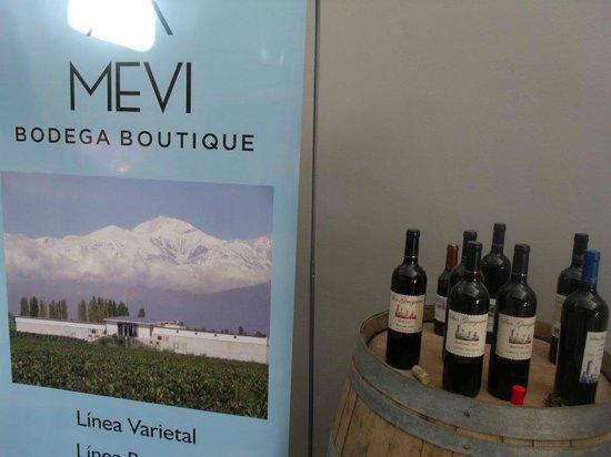 Mevi Bodega Boutique: ricos vinos