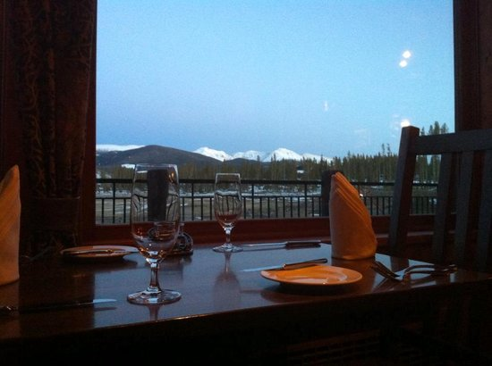 Ranch House Restaurant & Saloon: Table View