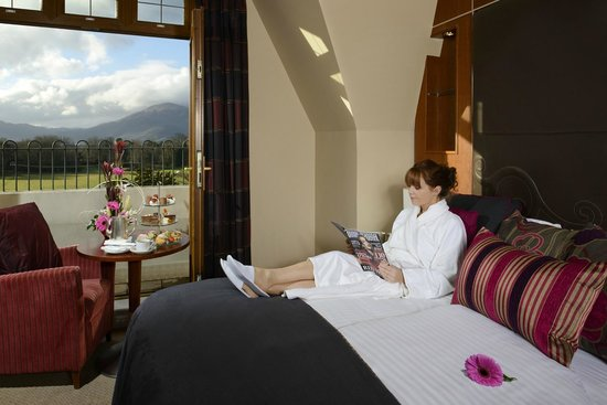 The Brehon: The view from the bedrooms