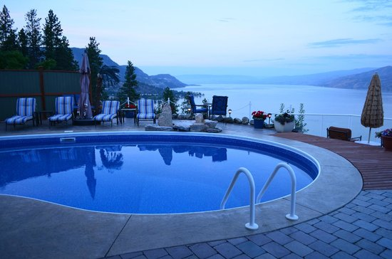 Okanagan Oasis B&B: A Fantastic View