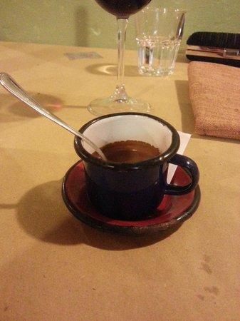 La Sosta di Pio VII: la tazzina del caffè