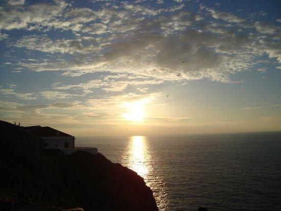 Sagres Time Apartamentos: puesta de sol  en el cabo de san vicente