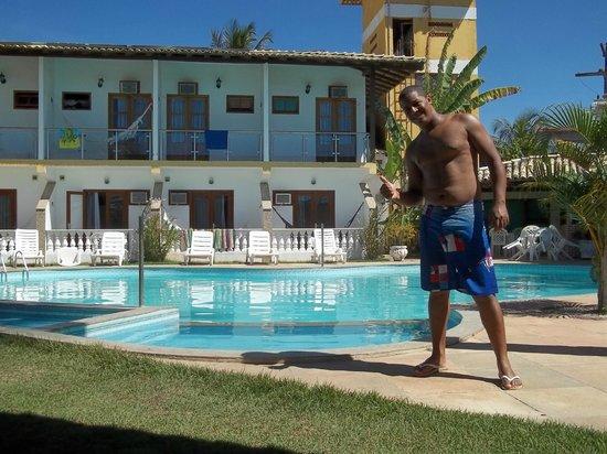 Benkos Praia Hotel : Na piscina