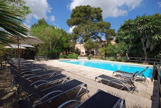 Petit Hotel Rural Son Jorda: zona de la piscina