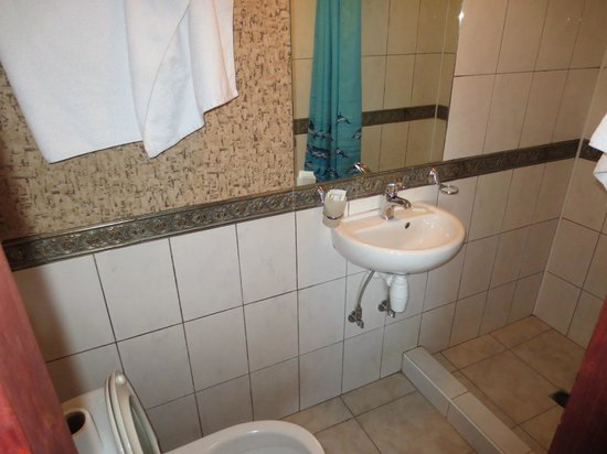 Bogdan Khmelnitskiy Hotel: bathroom