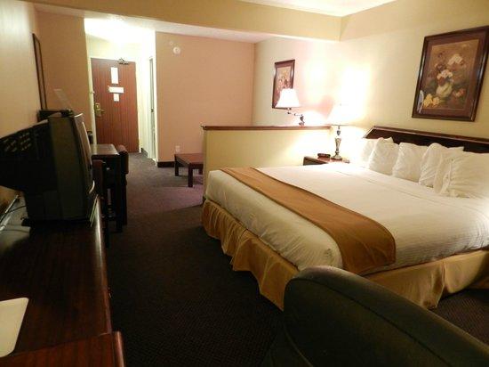 Luxury Inn & Suites: Junior Suite view 2