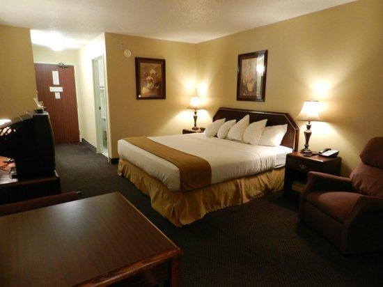 Luxury Inn & Suites: Single King Room view 2