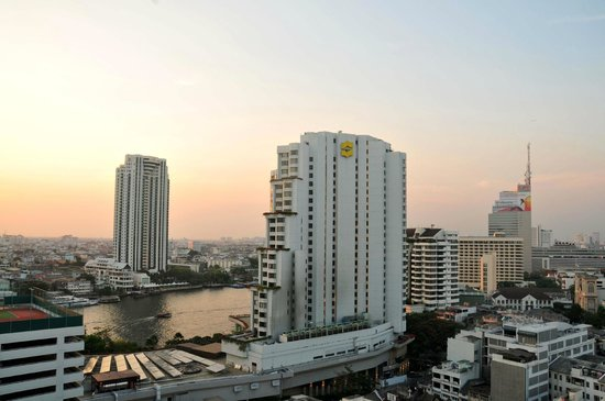 Centre Point Hotel Silom: View from balcony