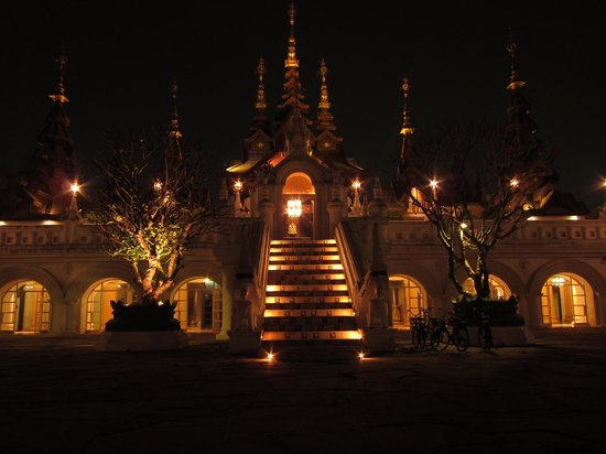 The Dhara Dhevi Chiang Mai: night view