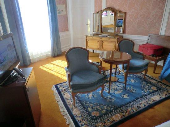 Hotel Negresco: Zimmer