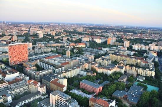 Berlin City Tours: View from air balloon trip.