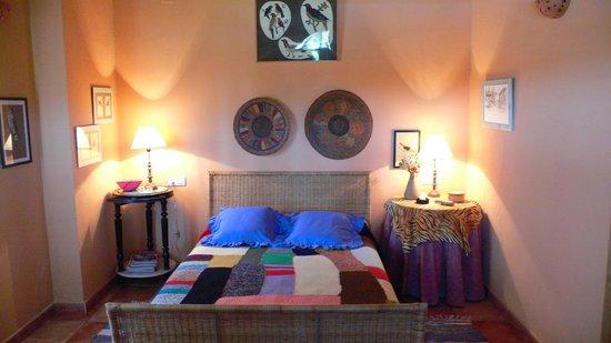 Cortijo Zalamea: Habitacion en el estudio 'MEMBRILLO'