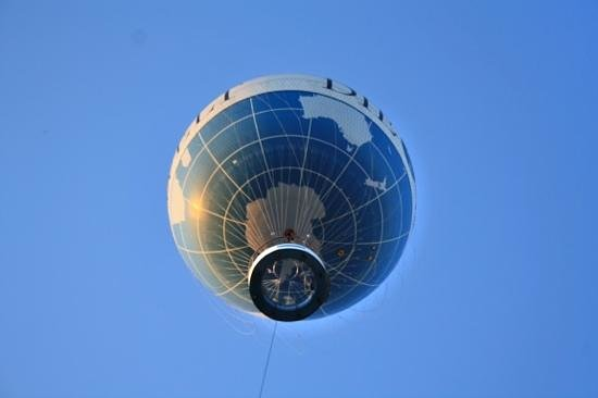 Berlin City Tours: Berlin air balloon. (highly reccommended,- affordable.)