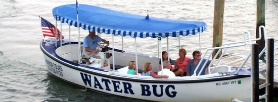 Μπόφορτ, Βόρεια Καρολίνα: Waterbug Tours depart from the Beaufort waterfront every day starting at 10:15 in the morning.