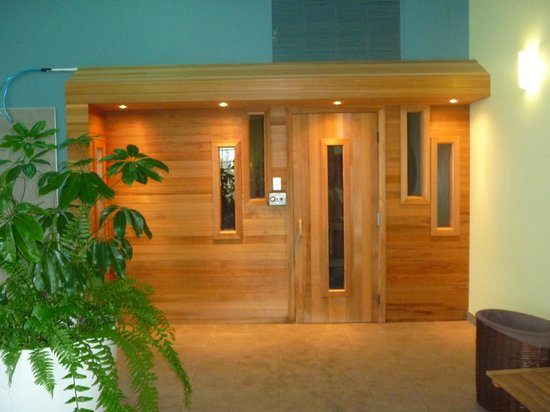 Hotel L'Oiseliere - St-Nicolas: Voilà le sauna !