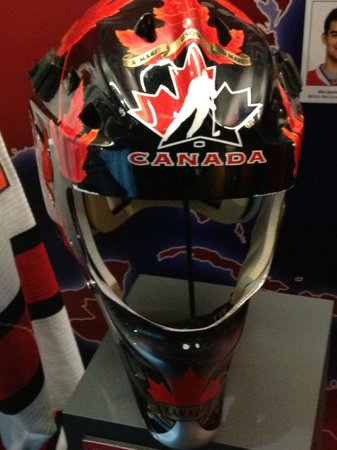 Carey Price World Juniors Mask Picture Of Montreal Canadiens Hall Of Fame Tripadvisor