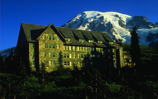 Paradise Inn at Mount Rainier Photo