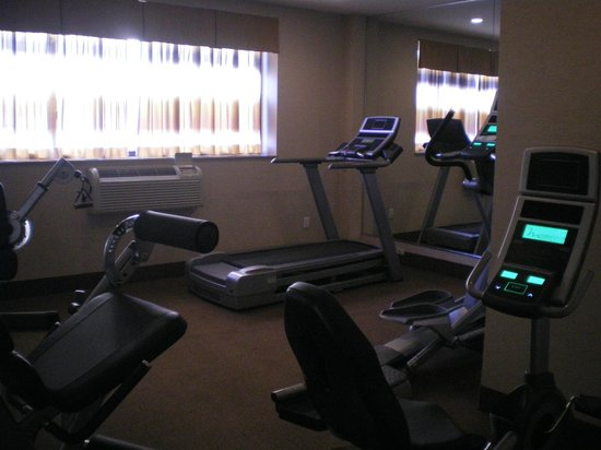 ‪‪Best Western Plaza Hotel‬: fitness‬