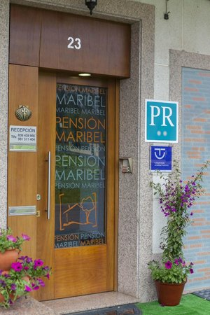 Pension Maribel: ENTRADA