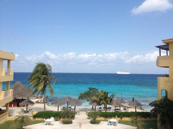 Playa Azul Golf, Scuba, Spa: View from Room 308