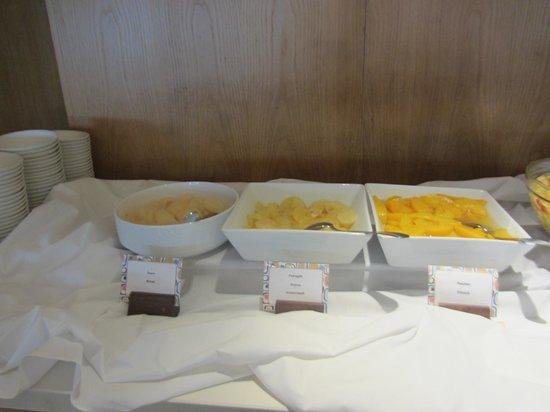 Napa Mermaid Hotel and Suites: Breakfast time