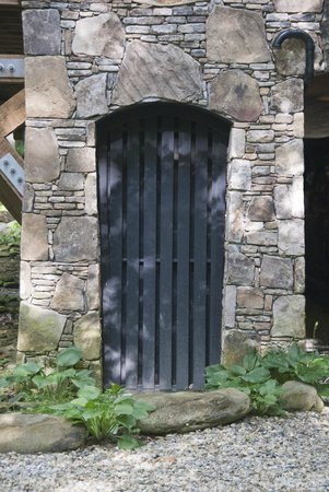 Nantahala River Lodge: Lovely stonework